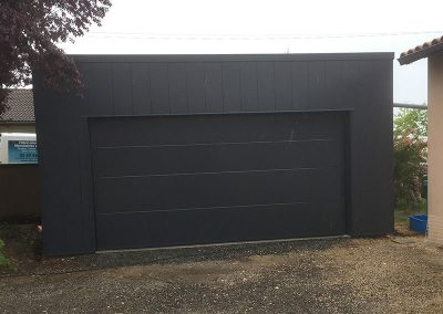 Porte garage battante