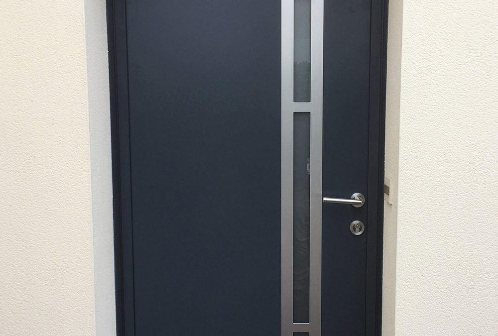 Porte d'entrée Alu Design