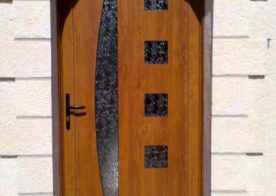 Porte entrée Bois