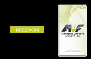 brochure menuiserie vriet et fils Menuisier à Poitiers